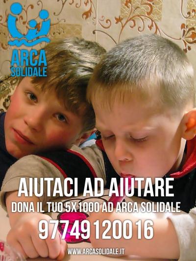 Arca Solidale 5x1000 2015