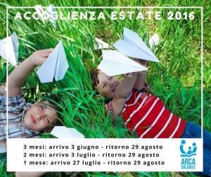 Accoglienza estate 2016