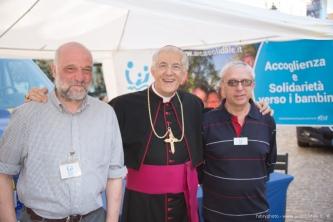 La gradita visita di Mons. Edoardo Aldo Cerrato, vescovo di Ivrea