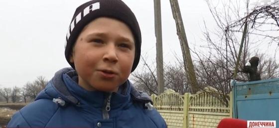Il piccolo Vadim, sopravvissuto agli orrori dellaguerra