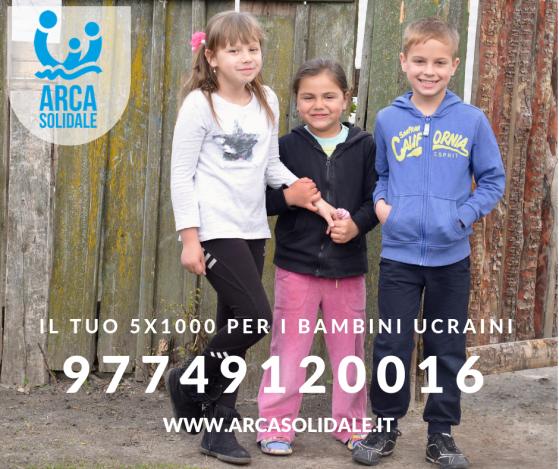 Il 5 x 1000 a favore dei bambiniUcraini