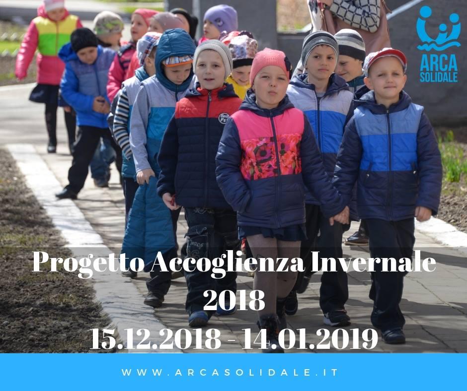 Progetto Accoglienza Inverno2018