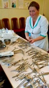 Ospedale pediatrico di Boiarka: attrezzaturearrivate!