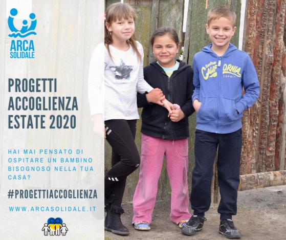Progetti Accoglienza Estate2020
